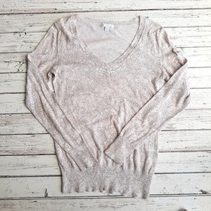 GAP FACTORY V-neck Pullover Sweater Blush S